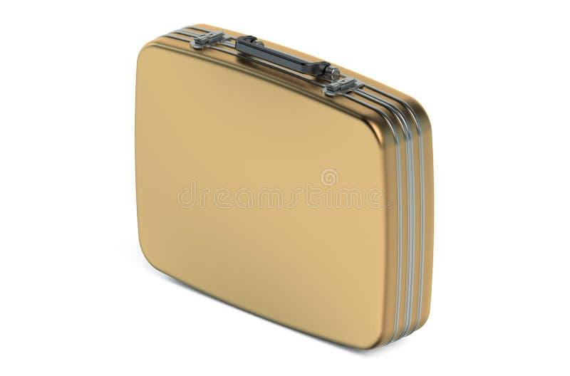 Gouden geval royalty-vrije illustratie