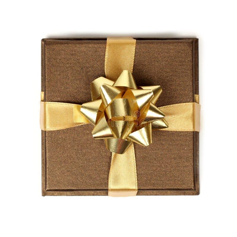 Gouden gift royalty-vrije stock fotografie