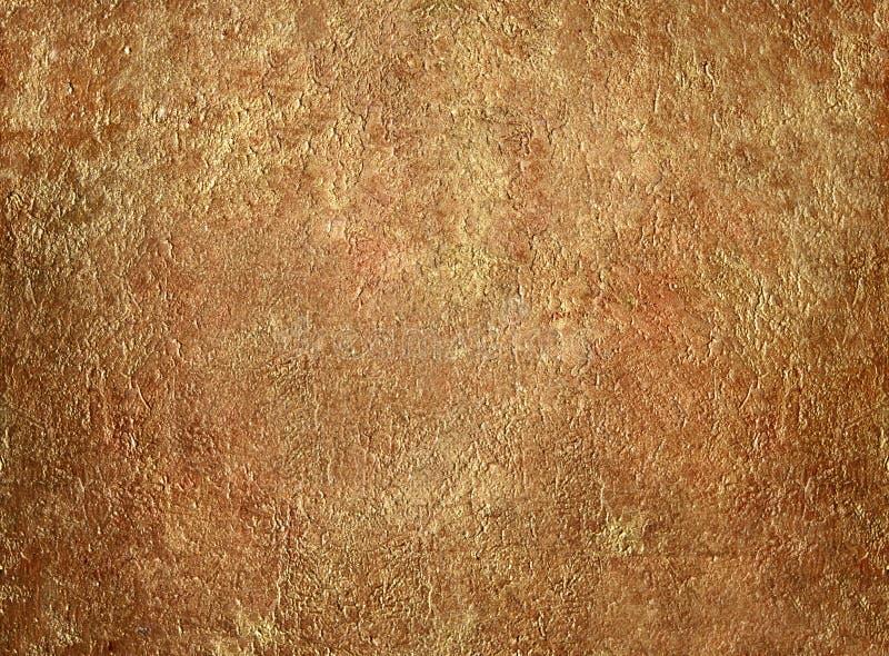 Gouden gipspleister royalty-vrije stock afbeeldingen