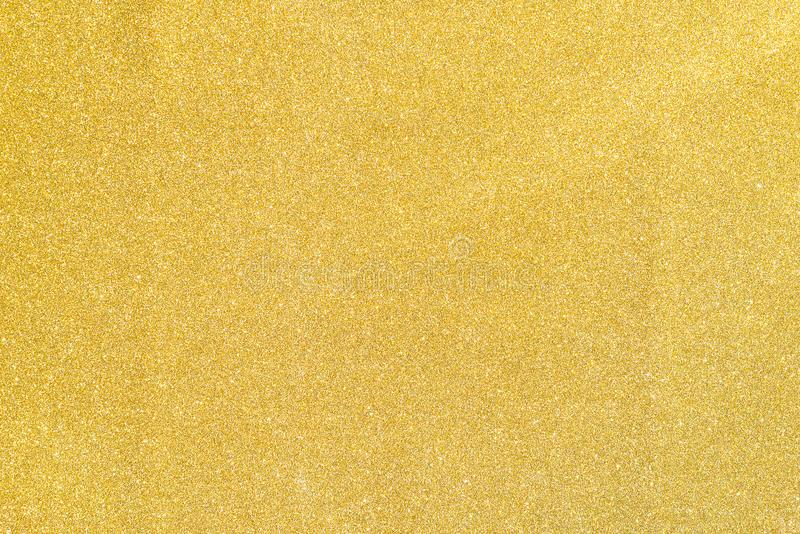 Gouden helder schittert document achtergrond stock afbeelding