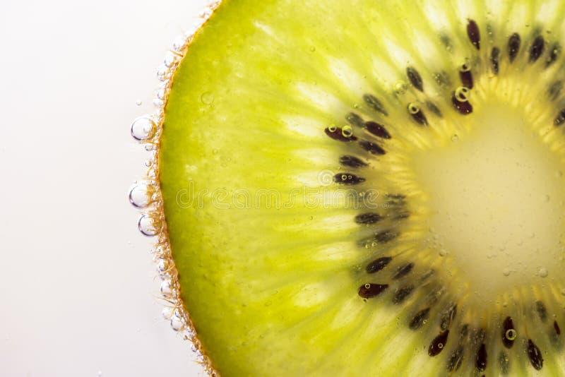 Gouden het close-upfotografie van de kiwiplak stock foto's
