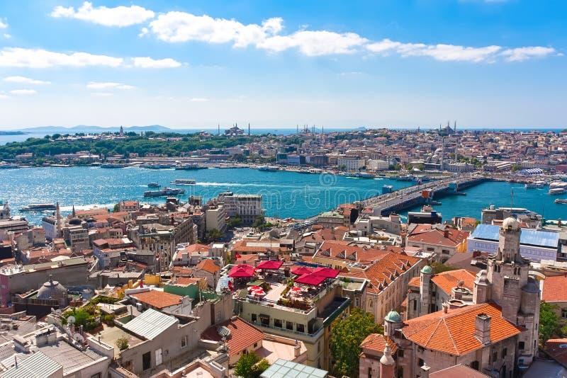 Gouden Hoorn in Istanboel stock foto