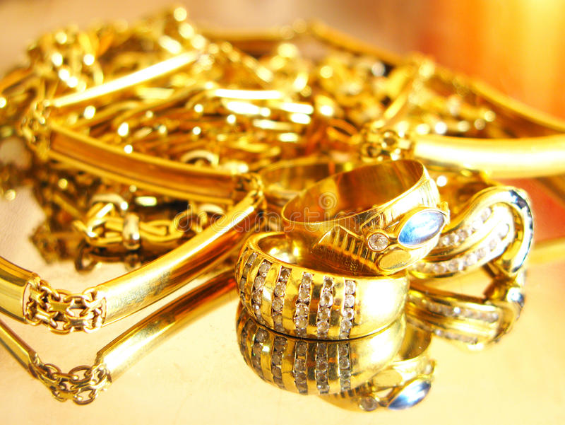 Gouden juwelen