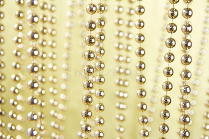 Gouden ketting royalty-vrije stock afbeelding