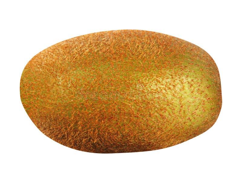 Gouden kiwifruit op een wit stock afbeelding