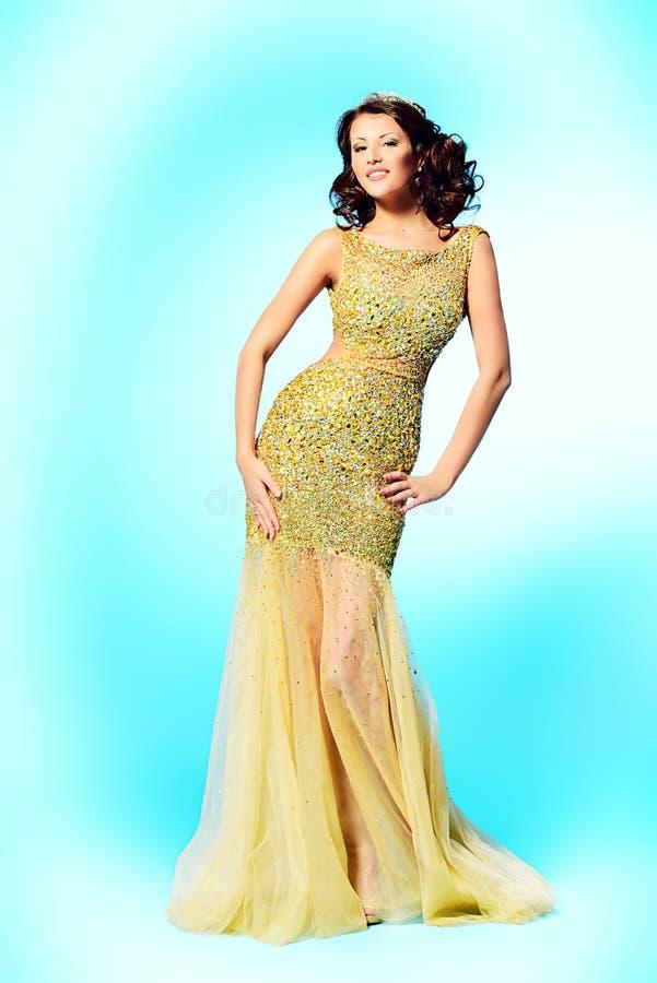Gouden kleding stock afbeelding