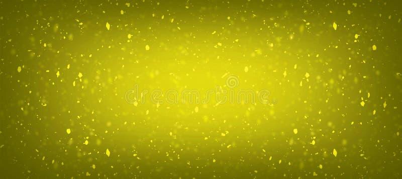 Gouden kleurenachtergrond met verbazende aanrakingsgevolgen voor of juwelenwinkels royalty-vrije stock foto