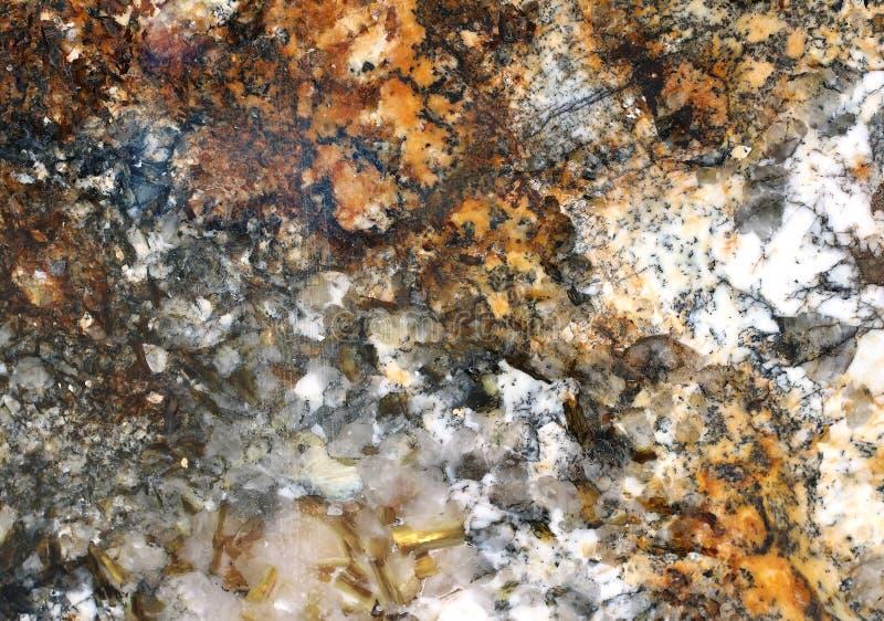 Gouden koorden marmeren textuur stock foto's