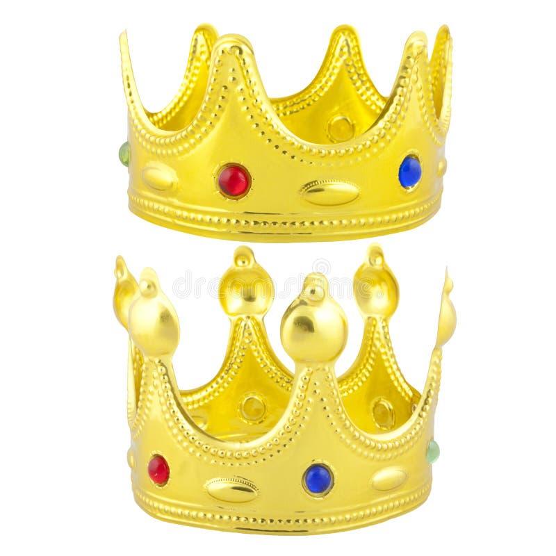 Gouden Kronen stock afbeeldingen