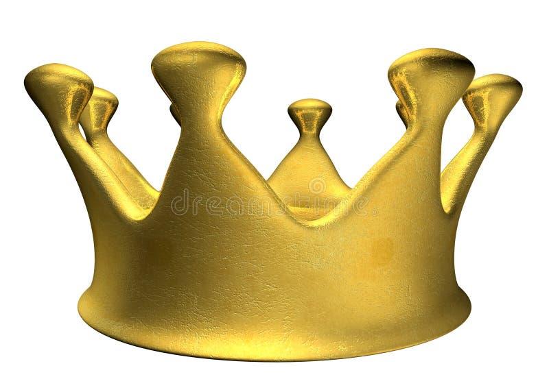 Gouden Kroon B stock afbeelding