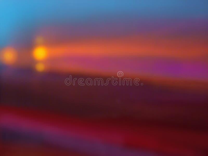 Gouden Lichten stock afbeelding