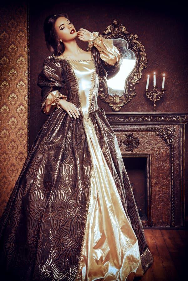 Gouden manier royalty-vrije stock afbeeldingen