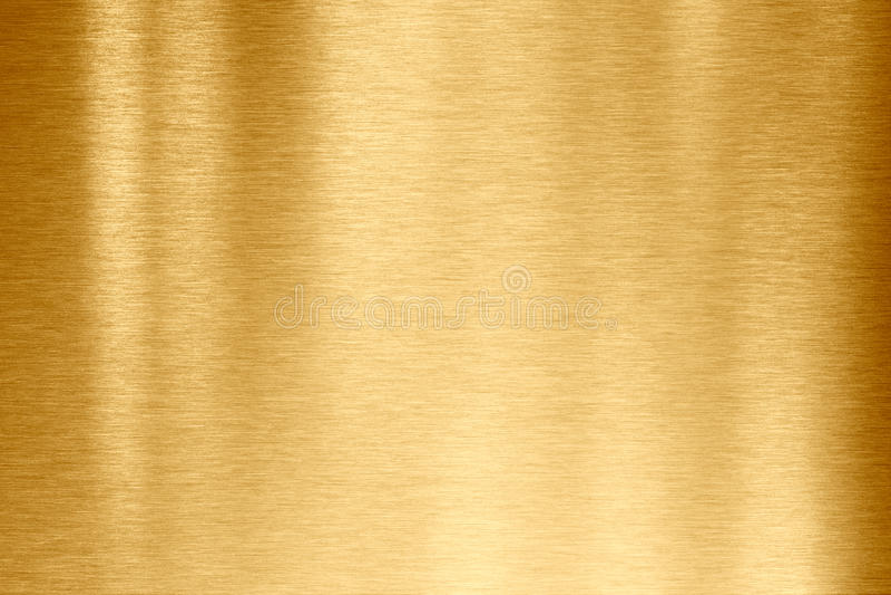 Gouden metaaltextuur stock afbeelding