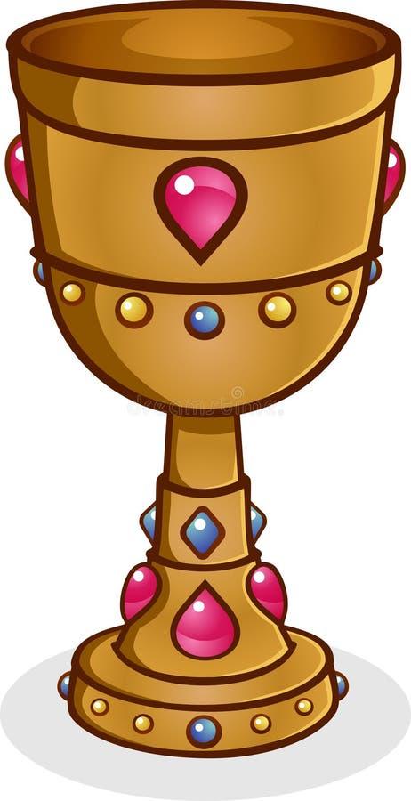 Gouden Miskelk royalty-vrije illustratie