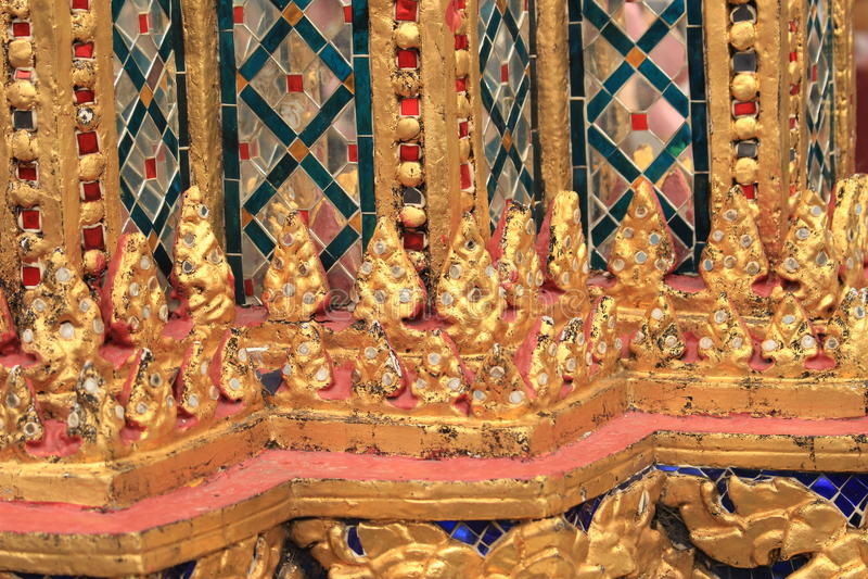 Gouden mozaïek royalty-vrije stock fotografie