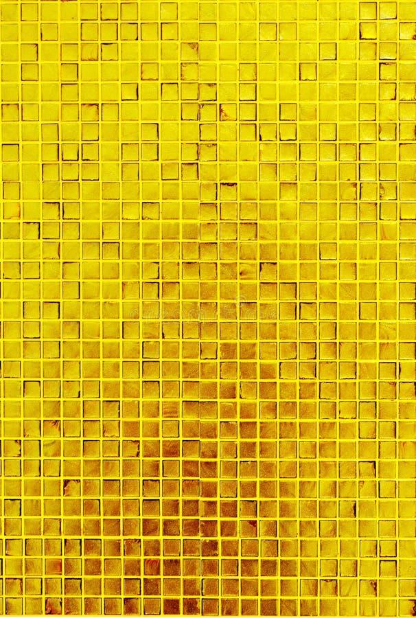 Gouden mozaïektextuur royalty-vrije stock foto