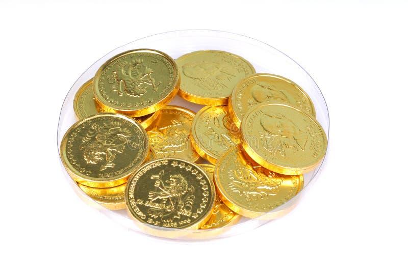 Gouden Muntstukken Gratis Stock Afbeelding