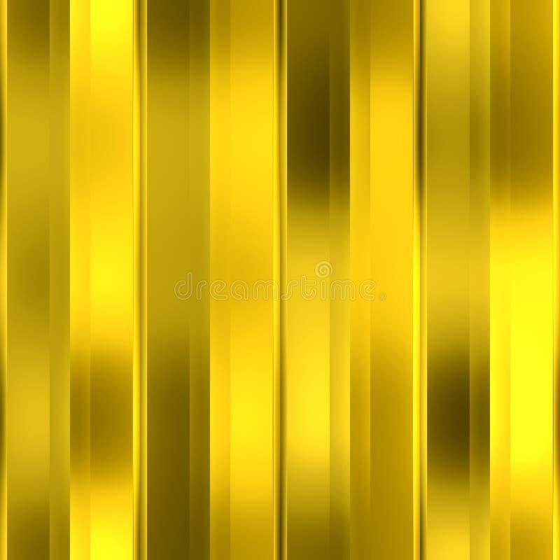 Gouden naadloze achtergrond stock illustratie