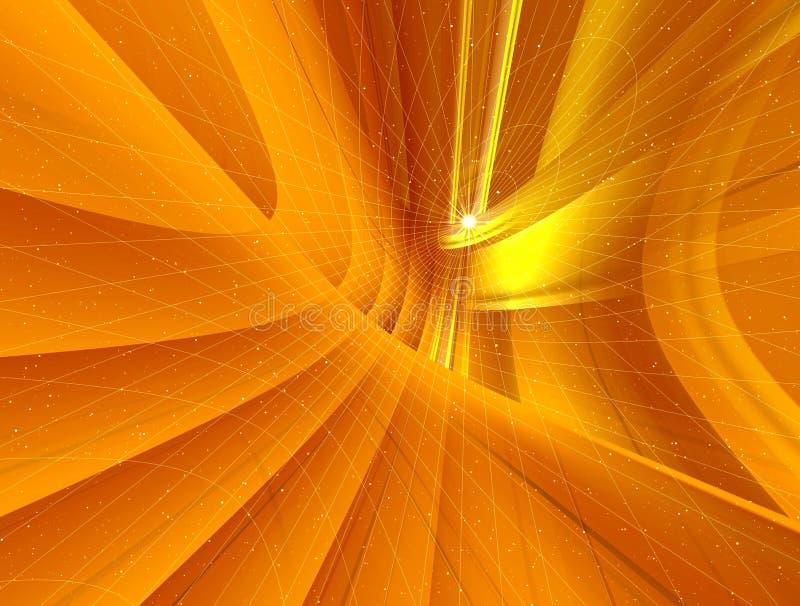 Gouden netten vector illustratie