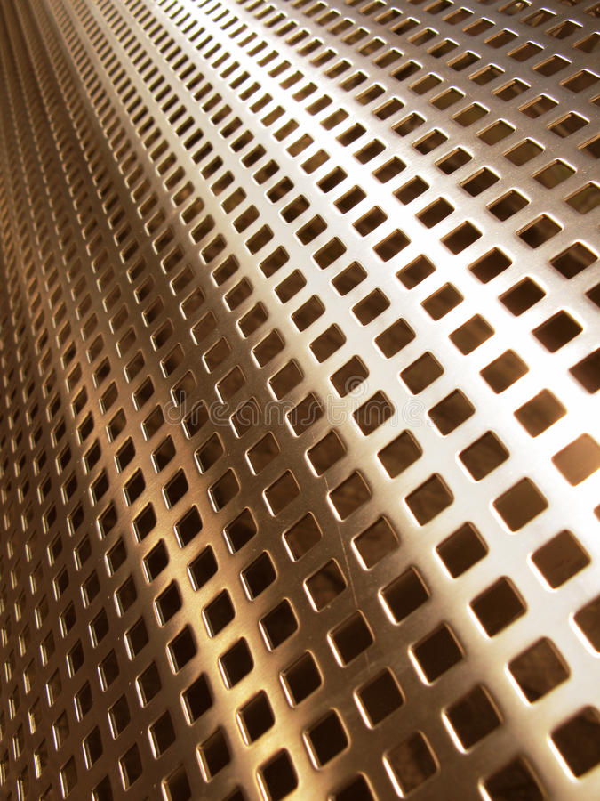 Gouden netwerk stock afbeelding