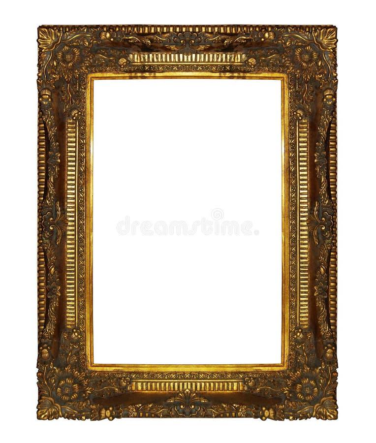 Gouden omlijsting royalty-vrije stock foto's