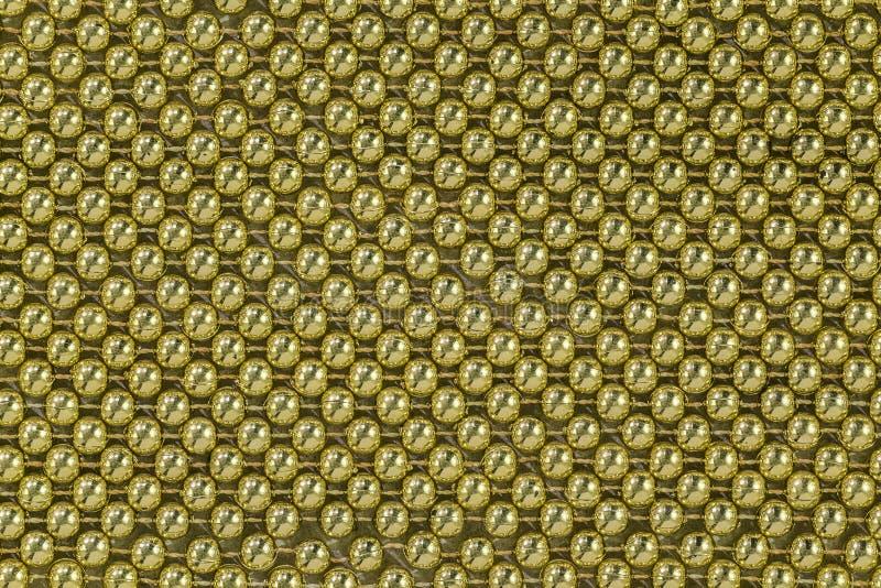 Gouden parels royalty-vrije stock afbeeldingen