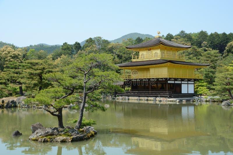 Gouden Paviljoen Kyoto stock afbeeldingen