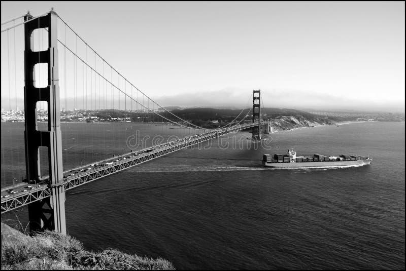 Gouden Poort in San Francisco, de V.S. royalty-vrije stock afbeelding
