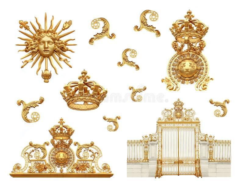Gouden poorten stock afbeelding