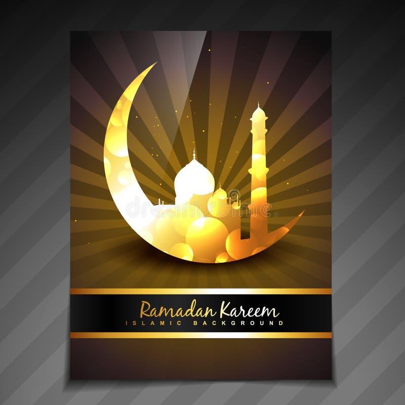 Gouden ramadan malplaatje