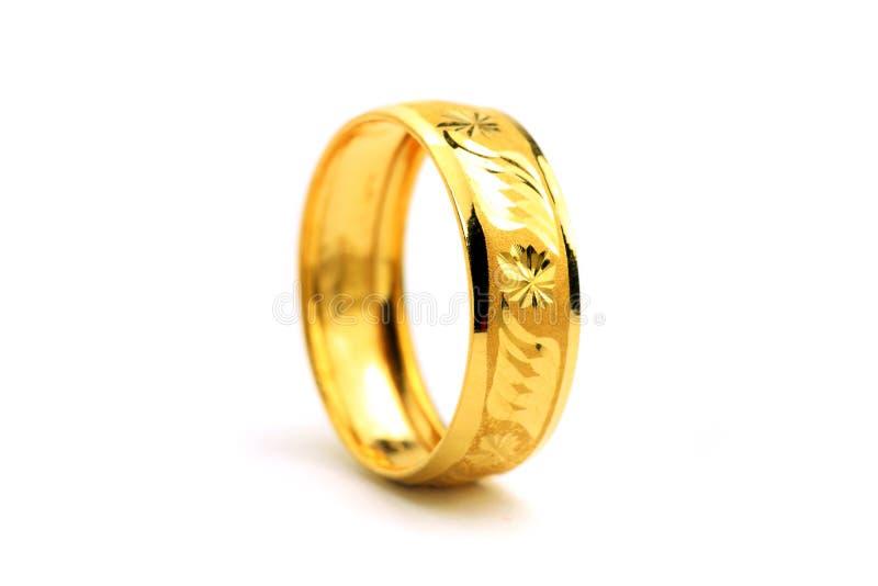 Gouden Ring stock fotografie