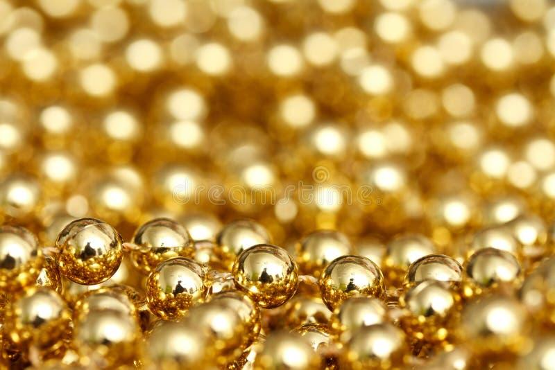 Gouden Samenvatting Royalty-vrije Stock Fotografie
