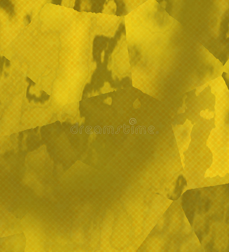 Gouden Samenvatting vector illustratie