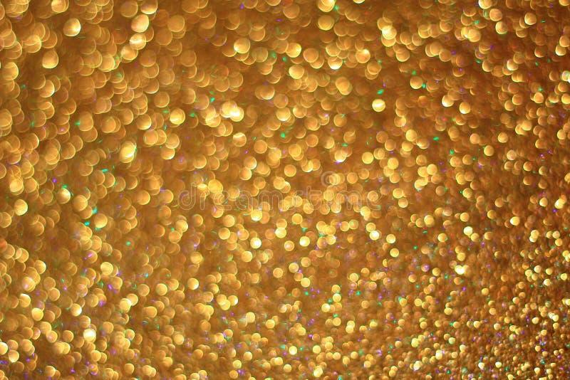 Gouden schitter achtergrond royalty-vrije stock foto
