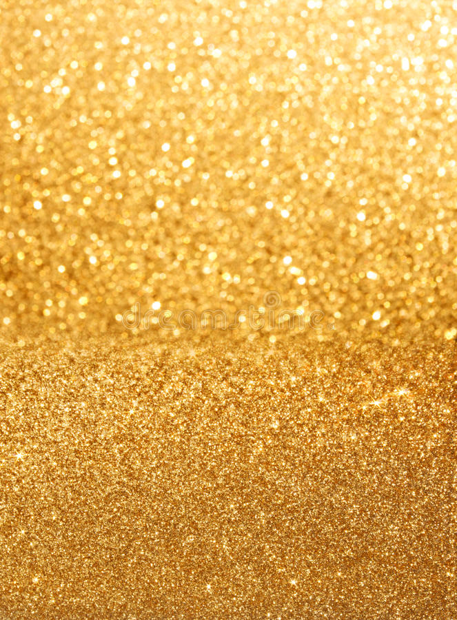 Gouden schitter achtergrond royalty-vrije stock foto's