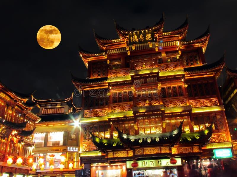Gouden Shanghai royalty-vrije stock afbeelding