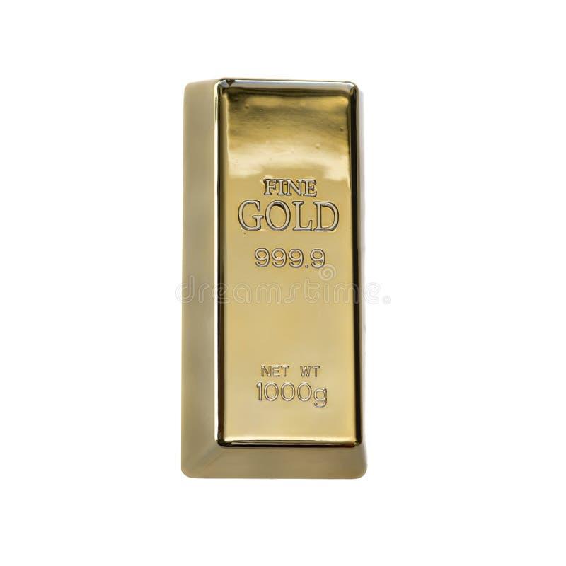 Gouden symbool van rijkdom en succes stock afbeelding