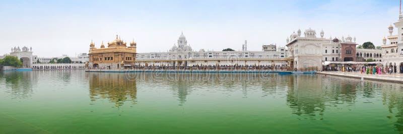Gouden Tempel in Amritsar stock foto