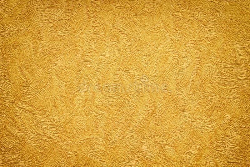 Gouden textuur als achtergrond royalty-vrije stock foto's