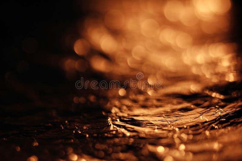 Gouden textuur, folie stock foto's