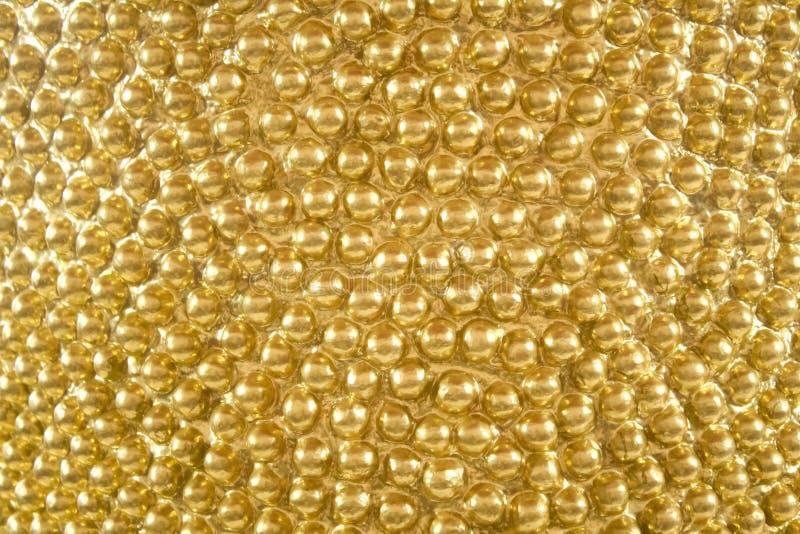 Gouden Textuurachtergrond royalty-vrije stock fotografie