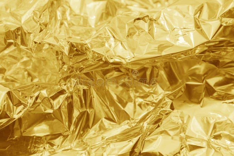 Gouden Textuurachtergrond stock fotografie