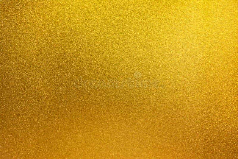 Gouden Textuurachtergrond Gouden textuuroppervlakte stock foto's