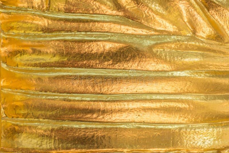 gouden textuursamenvatting voor achtergrond en ontwerp stock afbeelding