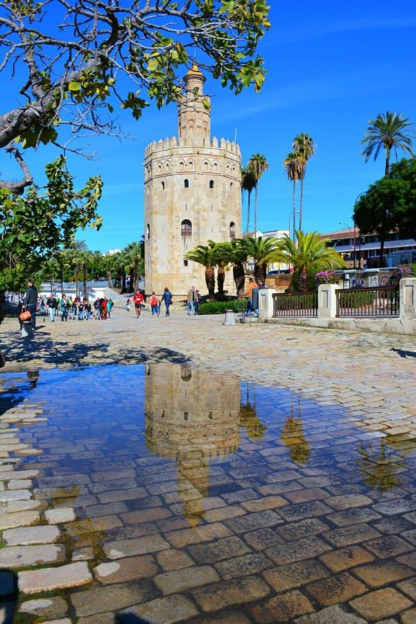Gouden Toren stock afbeelding
