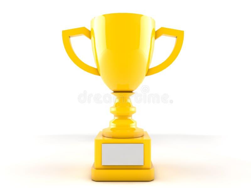 Gouden Trofee vector illustratie