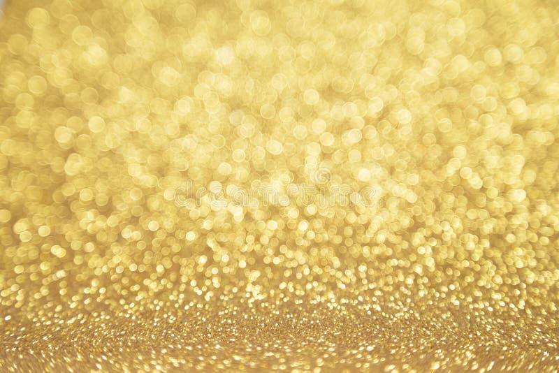 Gouden Twinkly stock foto's