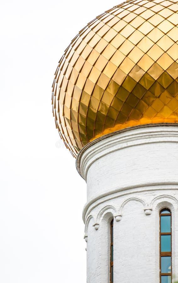 Download Gouden Uikoepel Van Oude Russische Kerk. Stock Foto - Afbeelding bestaande uit koepel, geloof: 29503150