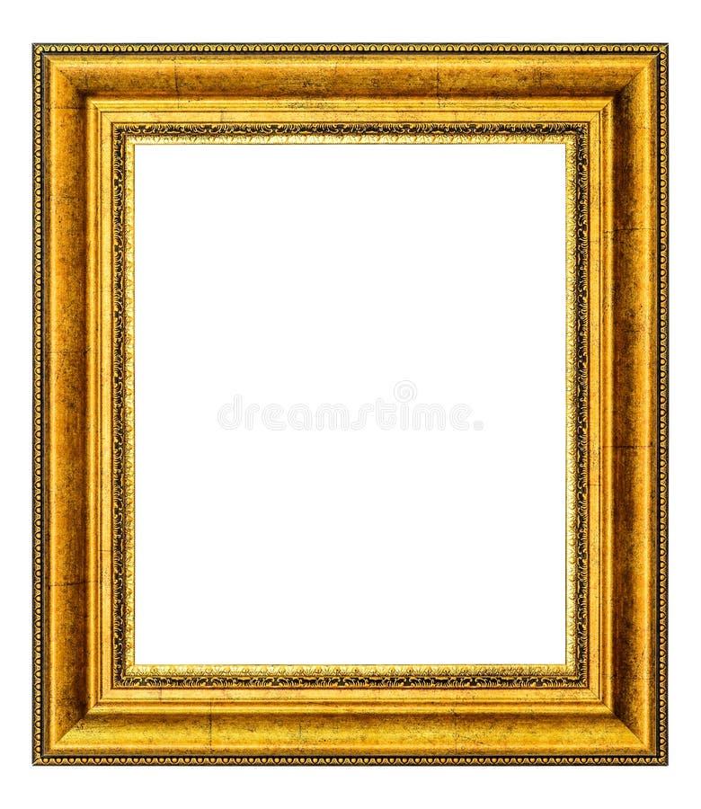 Gouden Uitstekend Frame royalty-vrije stock foto