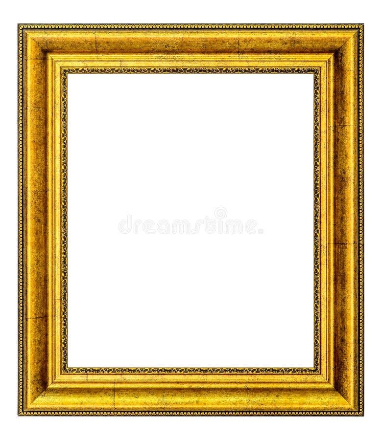 Gouden Uitstekend Frame stock foto's
